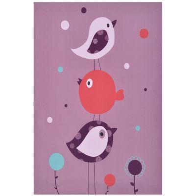Toile lumineuse Birdy (30 x 40 cm) Domiva