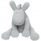 Petite peluche Paco gris clair (25 cm) - Noukie's