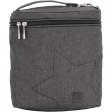 Sac isotherme Fuel Cell gris Chrome  par Ju-Ju-Be