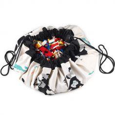 Sac à jouets 2 en 1 réversible Worldmap