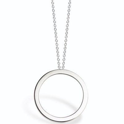 collier argent cercle
