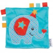 Doudou étiquettes éléphant Circus - Tinéo