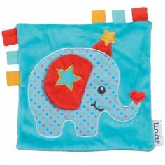 Doudou étiquettes éléphant Circus