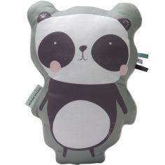 Coussin panda Adventure mint (45 cm)