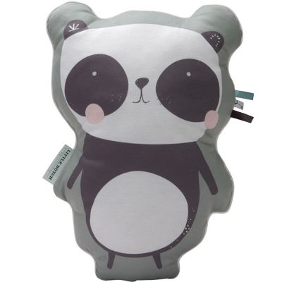 Coussin panda Adventure mint (45 cm)  par Little Dutch