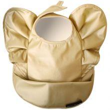 Bavoir plastifié Golden Wings  par Elodie Details