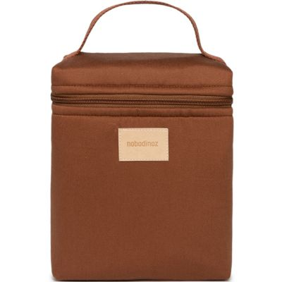 Sac isotherme waterproof Baby on the go Clay Brown  par Nobodinoz