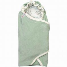 Couverture d'emmaillotage Empire Silt Green vert d'eau Tog 1,2 (110 x 110 cm)