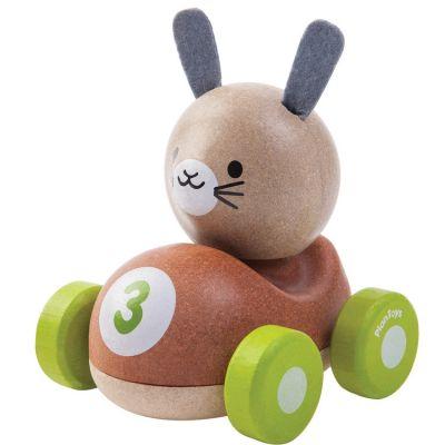 Bunny le lapin de course  par Plan Toys