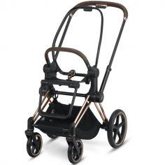 Châssis pour poussette à assistance électrique e-Priam Rosegold