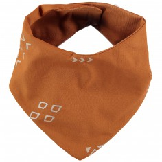 Bavoir bandana Lucky orange Gold secrets