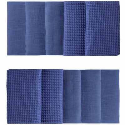 Tour de lit modulable & respirant indigo Mix & Match (pour lits 60 x 120 cm et 70 x 140 cm)  par BB & Co