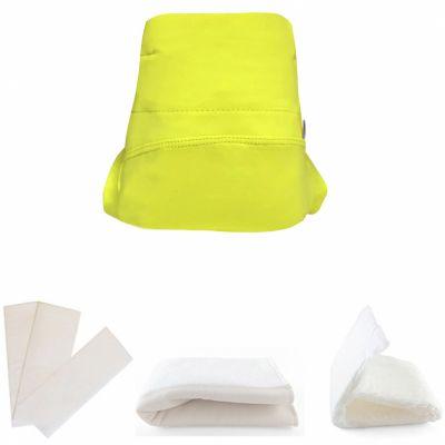 Kit couche en microfibre Green Banana 4 pièces (Taille S)