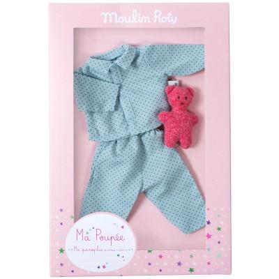 Panoplie pyjama pour poupée 27 cm  par Moulin Roty