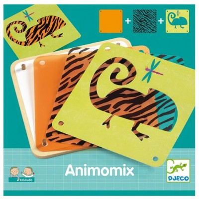 Jeu d'association Eduludo Animomix Djeco