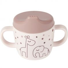 Tasse à bec Dreamy dots rose