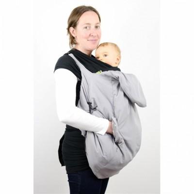 Couverture de portage pour porte-bébé étoile gris   Lucky 3f5ff41abfa