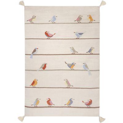 Tapis enfant Kilim petits oiseaux (110 x 160 cm) Art for Kids