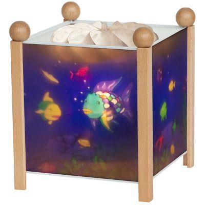 Lanterne magique ''Poisson Arc en ciel'' naturel  par Trousselier