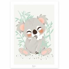 Carte A5 Les Animignons le koala