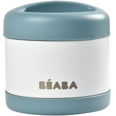 Thermos alimentaire baltic blue et white (500 ml)  par Béaba