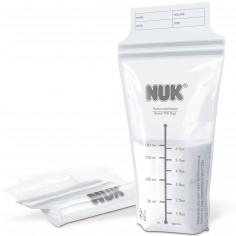 Lot de 25 sachets de conservation du lait maternel (180 ml)