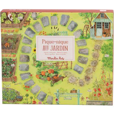 Pique-nique au jardin jeu de parcours et de récolte  par Moulin Roty