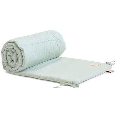 Tour de lit Nest Nid d'abeille Aqua (pour lits 60 x 120 et 70 x 140 cm)  par Nobodinoz