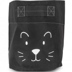Grand sac à jouets Little lion noir