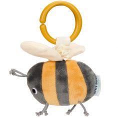 Peluche vibrante à suspendre abeille (14 cm)