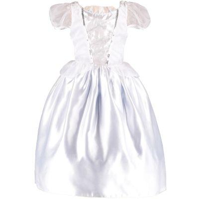 Robe de mariée réversible blanche et bleue (6-8 ans)