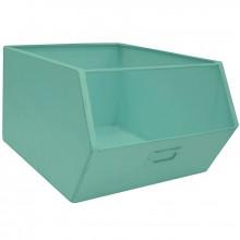 Casier de rangement en métal Pure bleu turquoise (28 x 36 cm)  par Kids Depot