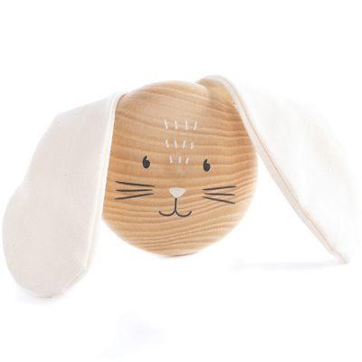 Patère en bois Bunny lapin  par Nobodinoz