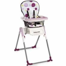 chaise haute slim pliable prune babymoov berceau magique. Black Bedroom Furniture Sets. Home Design Ideas