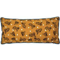 Coussin rectangulaire long Tigres (25 x 55 cm)