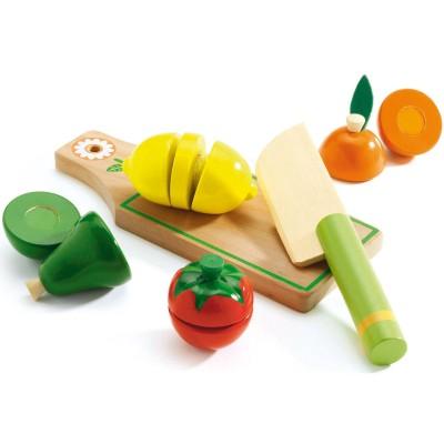 Jeu d'imitation Fruits et légumes à couper  par Djeco