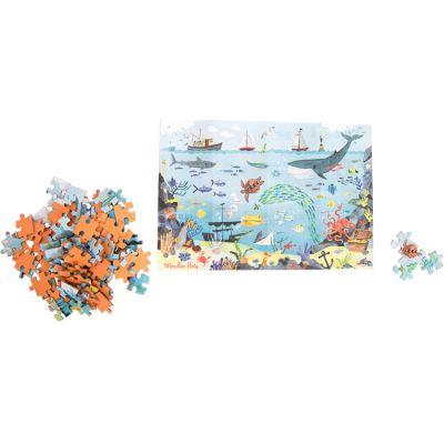 Puzzle de l'explorateur L'Océan Le jardin du Moulin (96 pièces)  par Moulin Roty