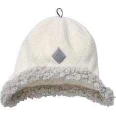 Bonnet polaire Scandinavian Off White (6-12 mois)