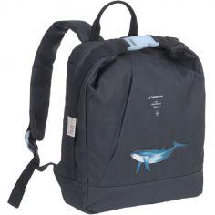 Sac à dos enfant baleine bleu marine Océan