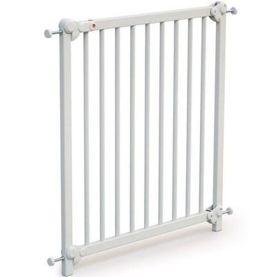 Barrière de sécurité en bois de hêtre Essentiel blanc  par AT4