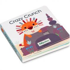 Livre bébé tactile et sonore Crazy Crunch