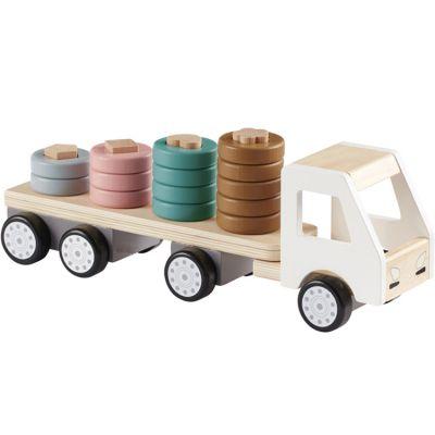 Camion avec anneaux en bois Aiden  par Kid's Concept