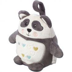 Peluche bruit blanc Grofriends rechargeable Pippo le panda (22 cm)