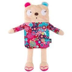 Bouillotte à bille ours fille Kimono (26 cm)