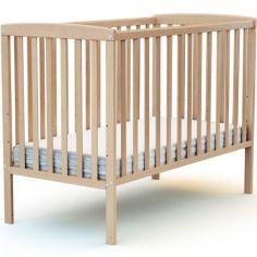 Lit à barreaux en bois de hêtre verni Confort (60 x 120 cm)