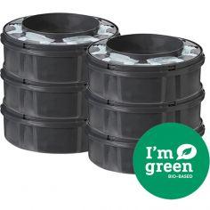 Lot de 6 recharges green pour bac à couches Twist & click