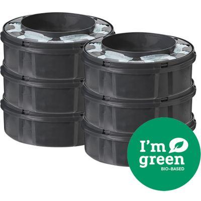 Lot de 6 recharges green pour bac à couches Twist & click  par Tommee Tippee
