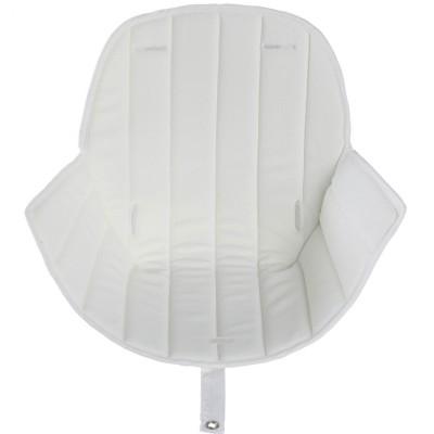 Assise tissu chaise haute Ovo Luxe blanc  par Micuna