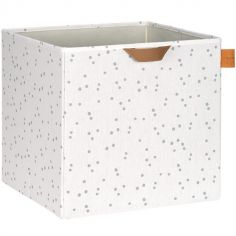 Cube de rangement jouets Allover points (32,5 x 33,5 cm)