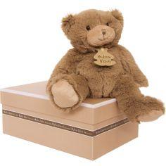 Coffret peluche Calin'ours Les Ours marron (25 cm)